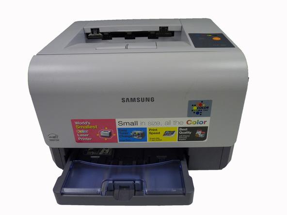 آموزش تعویض مخزن تونر باطله پرینتر Samsung CLP-300
