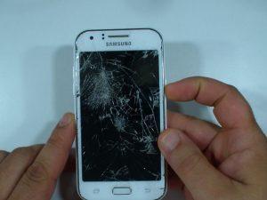 آموزش تصویری تعمیر Samsung Galaxy J1 LCD