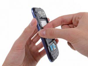 راهنمای تصویری َتعمیر مونتاژ پانل جلو Samsung Galaxy S III