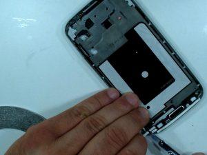 راهنمای گام به گام تعمیر مونتاژ صفحه نمایش (بدون قاب) Samsung Galaxy S4
