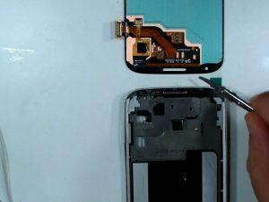 راهنمای مرحله به مرحله تعمیر مونتاژ صفحه نمایش (بدون قاب) Samsung Galaxy S4