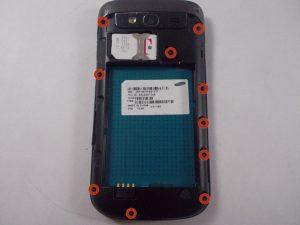 آموزش تصویری تعمیر مونتاژ صفحه نمایش Samsung Galaxy S Blaze