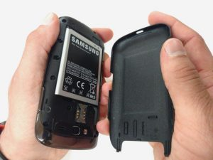 آموزش تصویری تعمیر صفحه پشتی Samsung Galaxy S Blaze