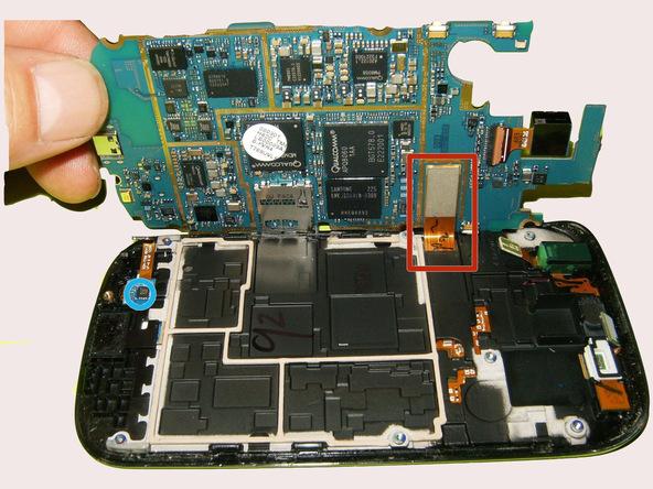 تعمیر مونتاژ صفحه نمایش Samsung Galaxy S Blaze
