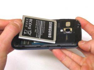 آموزش تصویری تعمیر باتری Samsung Galaxy SIII Mini VE
