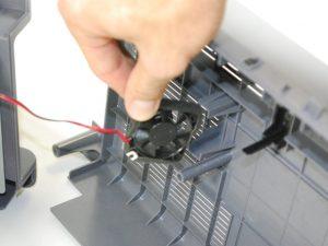 آموزش تصویری جدا کردن پنل پشتی پرینتر Samsung ML2510