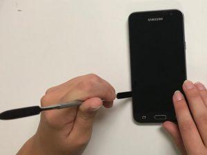 آموزش تصویری تعمیر کادر قاب میانی Samsung Galaxy J3