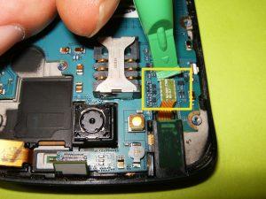 راهنمای تصویری تعمیر صفحه نمایش Samsung Galaxy S Blaze