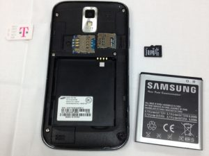 راهنمای تصویری تعمیر بلندگو Samsung Galaxy S II T989