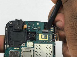 راهنمای تصویری تعویض دوربین جلو Samsung Galaxy J1