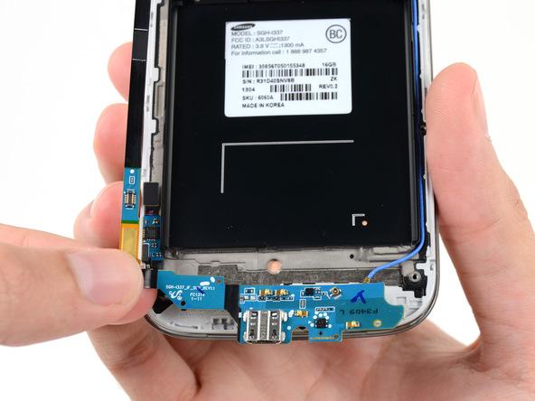 تعمیر بوردSamsung Galaxy S4 USB