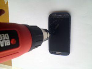 راهنمای تصویری تعمیر صفحه نمایش Samsung Galaxy S III