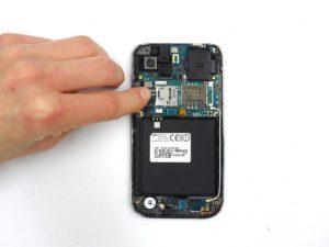راهنمای تصویری تعمیر کابل آنتن باز شده Samsung Galaxy S Vibrant
