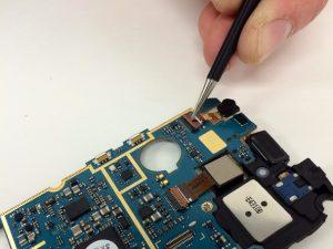 راهنمای تصویری تعمیر دوربین جلو Samsung Galaxy SIII Mini VE