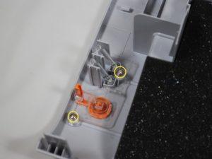 راهنمای مرحله به مرحله تصویری تعویض دکمه پاور پرینتر Samsung ML2510