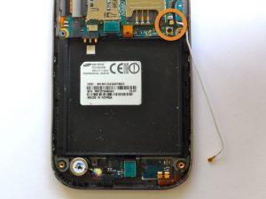 راهنمای تصویری تعمیر کابل آنتن Samsung Galaxy S Vibrant