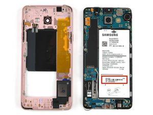 راهنمای تصویری تعویض صفحه نمایش Samsung Galaxy A5 2016