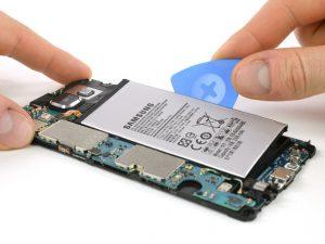راهنمای تصویری تعویض باتری Samsung Galaxy A5