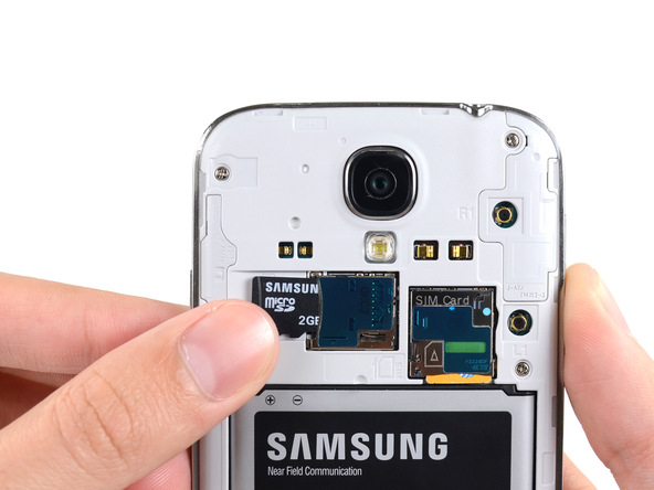 تعمیر کارت حافظه میکروSamsung Galaxy S4 SD