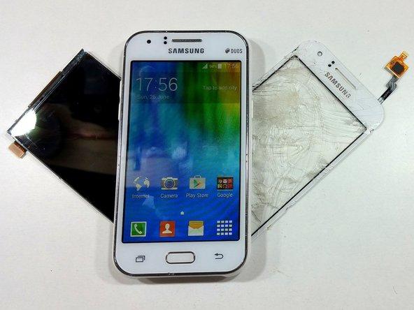 تعمیر صفحه نمایششیشه ای Samsung Galaxy J1