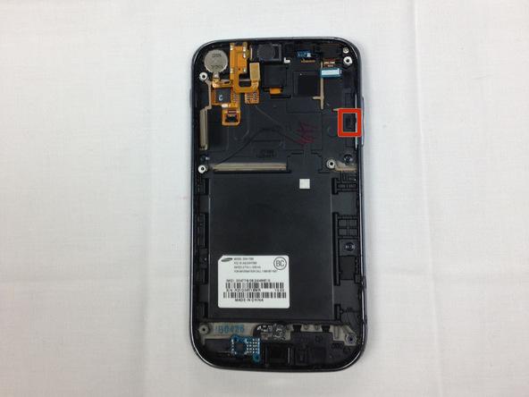 تعمیر دکمه کنترل صدا Samsung Galaxy S II T989