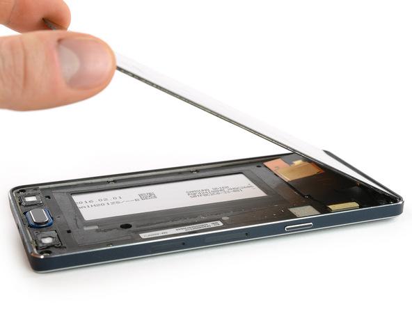 آموزش تصویری تعویض صفحه نمایش Samsung Galaxy A5