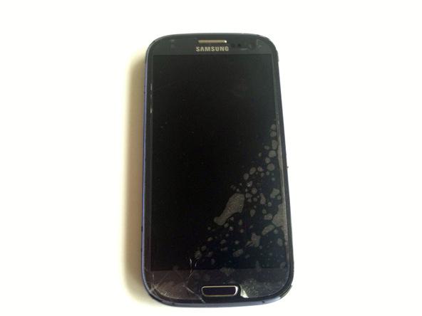 تعمیر شیشه شکسته جلو Samsung Galaxy S III