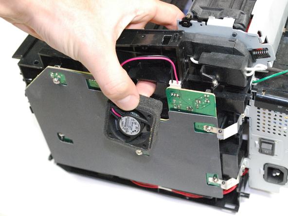 آموزش تعویض فن خنک کننده جانبی پرینتر Samsung ML2510