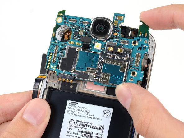 تعمیر مادر بورد Samsung Galaxy S4