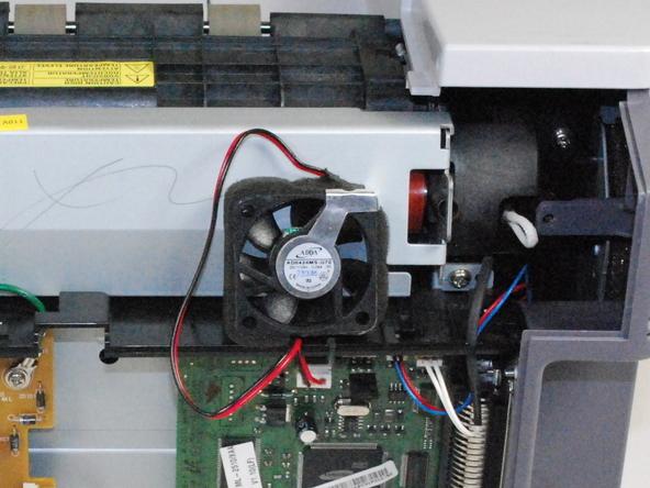 آموزش تعویض فن خنک کننده عقب پرینتر Samsung ML2510